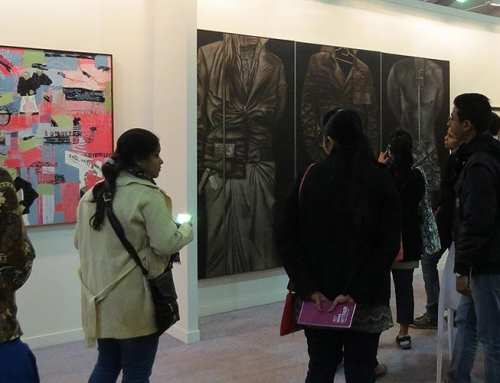 Broota's paintings on display at the India Art Fair