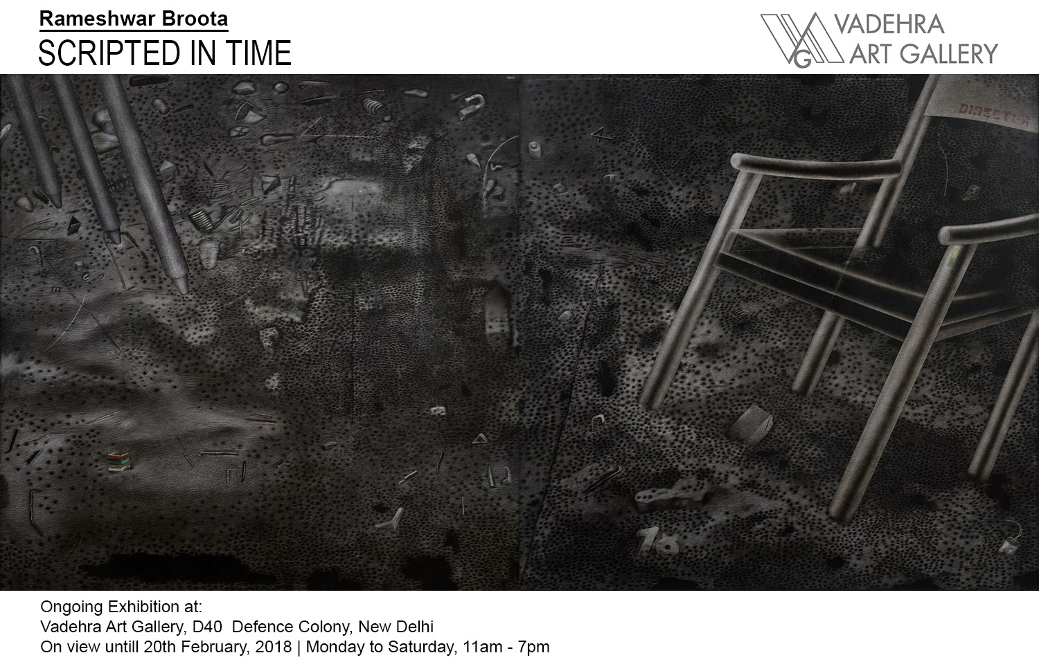 Exhibition of Paintings by Rameshwar Broota at Vadehra Art Gallery